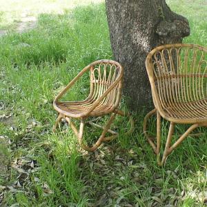 キッズチェア ラタンチェア 子供椅子 いす 籐 ラタン 家具 アジアン おしゃれ アンティーク調 木製 C155SME landmark 06