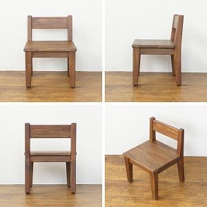 キッズチェア 子供用 椅子 チーク無垢 木製 おしゃれ ナチュラル C272KA|landmark|03