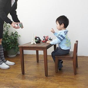 キッズチェア 子供用 椅子 チーク無垢 木製 おしゃれ ナチュラル C272KA|landmark|04