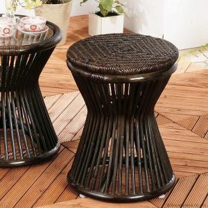 アジアン家具 エスニック スツール ラタン 籐 椅子 チェア 和 C418BK|landmark|02