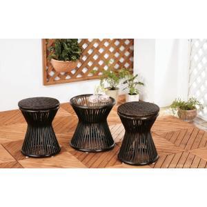 アジアン家具 エスニック スツール ラタン 籐 椅子 チェア 和 C418BK|landmark|06