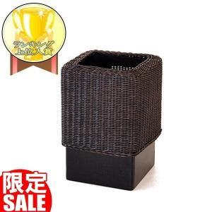 ゴミ箱 ダストボックス おしゃれ 木製 分別 アジアン モダン GK303SAT|landmark