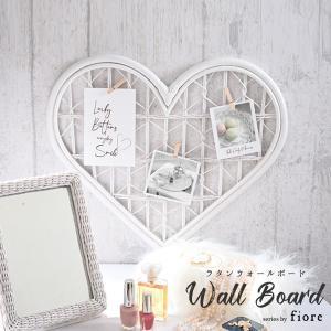 ウォールボード fiore 姫系 家具 ホワイトラタン レース フェミニンデコ GK838WW|landmark