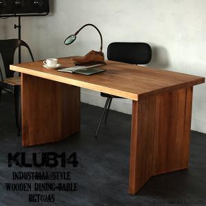 インダストリアル家具 ダイニングテーブル 机 天然木製 ヴィンテージ調 カフェ 北欧 RGT02AS|landmark