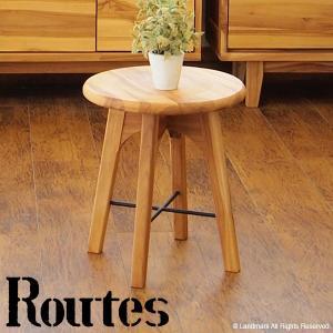 アウトレット スツール 椅子 チェア おしゃれ チーク 無垢 木製 アイアン 北欧 カフェ アジアン USC100WX|landmark