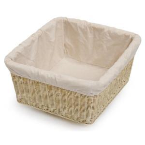 籐 ラタン 脱衣カゴ かご バスケット 収納 業務用品質 和 和風 WN74108|landmark