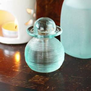 アジアン雑貨  アロマ ボトル ガラス  Sタイプ  保存容器  140302b|landmark
