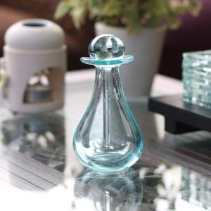 アジアン バリ アロマボトル 化粧水瓶 バリガラス スパ バリ雑貨 z140303b|landmark
