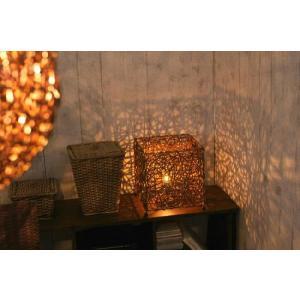 アジアン雑貨 照明 バリ フロアライト リビングライト スタンドライト トリプル z910501s|landmark|04