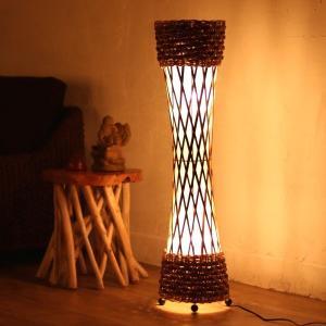 アジアン雑貨 バリ 照明 インテリア フロアライト スタンドライト 間接照明 おしゃれ アクビィ Z940201S|landmark