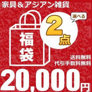 福袋 家具インテリア 雑貨 よりどり2点福袋 チェア テーブル 照明 ハンガーラック アウトレット ZA2PC20000