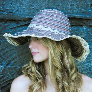 sunglobe 【送料無料】UVカット帽子 ☆ 紫外線対策  つば広 帽子 UV対策 レディース キャプリーヌ パープル オーストラリア皮膚癌財団認定 lapia