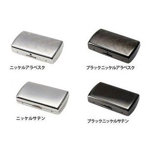シガレット(たばこ)ケース・喫煙具  カジュアルメタルケース ヴィーナスベビー保湿スリム手巻き12本(70mm)|lapierre