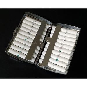 iQOS(アイコス)ヒートスティックケース シガレット(たばこ)ケース・喫煙具 カジュアルメタルカートリッジケース20 ニッケル|lapierre