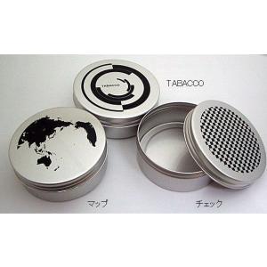 喫煙具・パイプ・手巻き アルミ缶タバコケース 大|lapierre