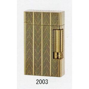 フリントガスライター・喫煙具 カランダッシュ CD20-2003ゴールドシェブロン|lapierre