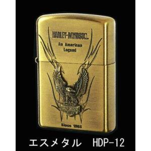 Zippo ハーレーダビッドソン エスメタル HDP-12 【喫煙具・オイルライター】|lapierre
