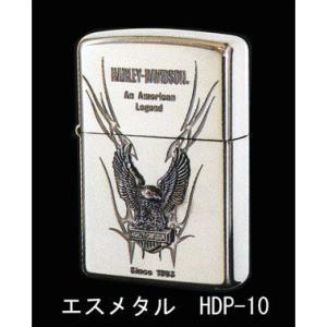 Zippo ハーレーダビッドソン エスメタル HDP-10 【喫煙具・オイルライター】|lapierre