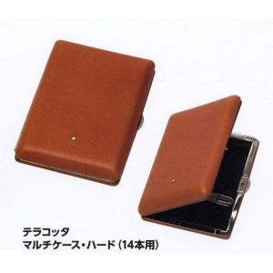 ダンヒル テラコッタ・マルチケース・ハード(14本用)|lapierre