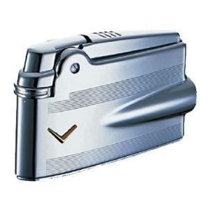 フリントガスライター・喫煙具 ロンソン プレミア・ヴァラフレーム RPV-2005 クロームエンジンタンVマーク|lapierre