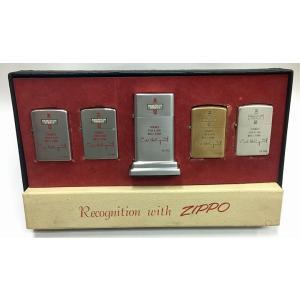 Zippo 1956年 Sales Sample Set 【喫煙具・ヴィンテージオイルライター】|lapierre