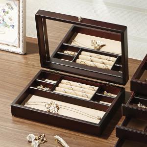 ジュエリーボックス 木製 ジュエルケース 日本製 木製ジュエルケース  おしゃれ|lapin-happy-jewelry