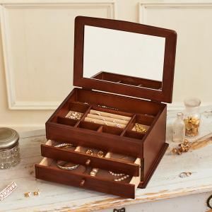 ジュエリーボックス 大容量 木製 ジュエルケース 日本製 木製ジュエルケース |lapin-happy-jewelry
