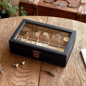 ウォッチケース(10本用) 腕時計ケース おしゃれ 父の日|lapin-happy-jewelry