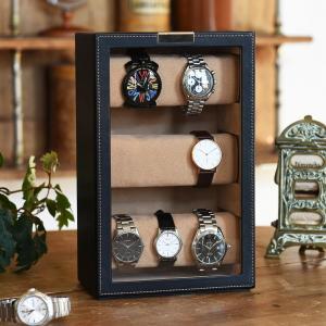 ウォッチタワー 腕時計ケース レザー 父の日|lapin-happy-jewelry