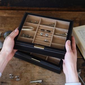 アクセサリーケース メンズ ジュエリーケース 父の日|lapin-happy-jewelry