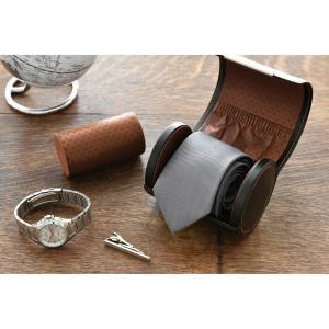携帯用ネクタイ収納ケース&ウォッチ収納ケース  父の日 lapin-happy-jewelry