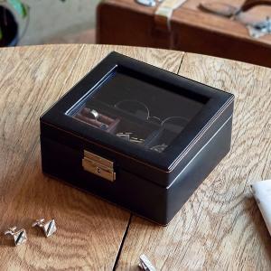 ジュエリーケース メンズボックスM メンズ 父の日|lapin-happy-jewelry