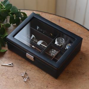 ジュエリーケース メンズボックスL メンズ 父の日|lapin-happy-jewelry