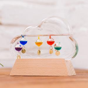 ガリレオ温度計 ガラスフロート温度計 クラウド 雲|lapin-happy-jewelry