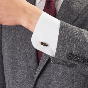 カフスボタン 万年筆 おしゃれ 結婚式 カフス 父の日|lapin-happy-jewelry