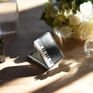 在庫限り コンパクトミラー ピアノ プレゼント おしゃれ|lapin-happy-jewelry