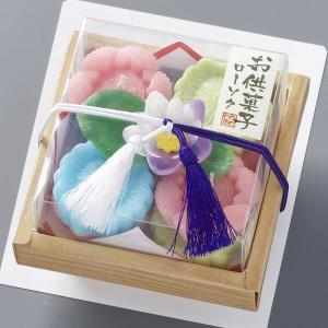 本物そっくり!お供菓子落雁ろうそく 8個入り 【故人の好物シリーズ】|lapis1021