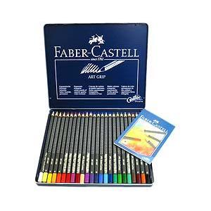 【ファーバーカステル:ドイツ】アートグリップ油性色鉛筆 24色 lapiz