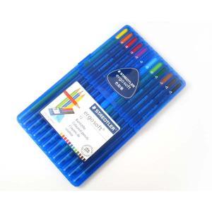 ステッドラー(STAEDTLER) ドイツ エルゴソフト 色鉛筆 12色セット|lapiz