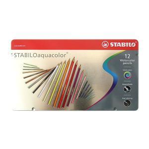スタビロSTABILO ドイツ アクアカラーaquacolor色鉛筆12色セット|lapiz