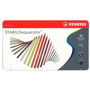 【スタビロSTABILO:ドイツ】アクアカラーaquacolor色鉛筆36色セット lapiz