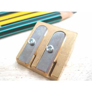 【DUX:ダックス】 軸の太さが違う鉛筆も削れる ダブルシャープナー|lapiz
