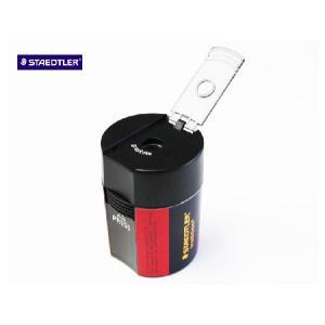トラディション 蓋付きシャープナー 1穴 鉛筆削り【ステッドラー(STAEDTLER):ドイツ】|lapiz