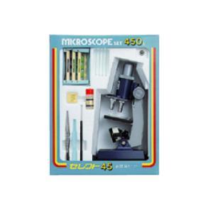 【ミザール製】 学習顕微鏡セット セレクト45 照明器付|lapiz