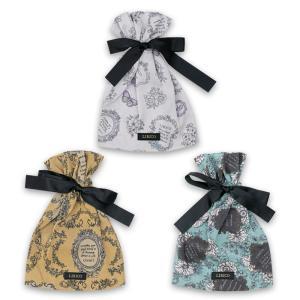 オリジナルデザイン リボン巾着 LIRICO リリコ ネコポス送料無料|lapiz