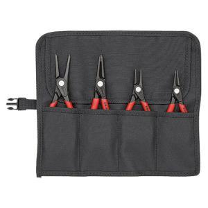 KNIPEX(クニペックス) スナップリングプライヤーセット(4本組) 001957|laplace