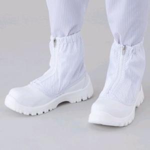 アズピュア クリーン安全ブーツ ショートタイプ TCBS-S 22.5cm 1-2268-02|laplace