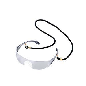 アズワン 保護メガネLF−102黒ストラップ付き 1-8632-12|laplace
