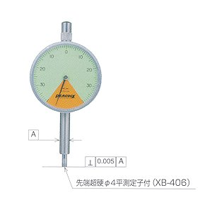 PEACOCK(尾崎) 指針1回転未満ダイヤルゲージ Zシリーズ 107Z|laplace