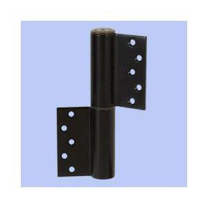 日東工器 ヒンジ丁番型 左開き ブラック 110-L-V|laplace